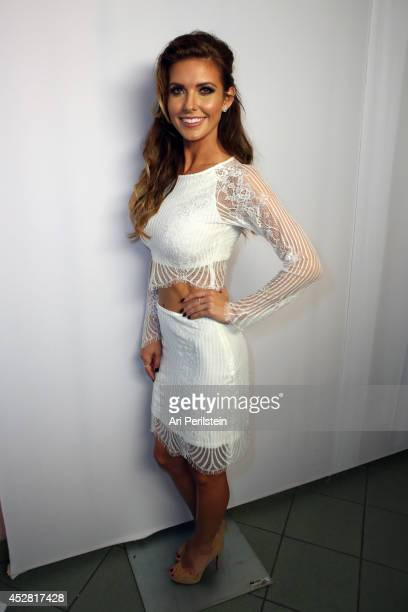 Personality Audrina Patridge attends the 2014 Young Hollywood Awards brought to you by Samsung Galaxy at The Wiltern on July 27 2014 in Los Angeles...