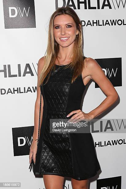 TV personality Audrina Patridge attends the Dahlia Wolf Launch Party at the Graffiti Cafe on October 22 2013 in Los Angeles California