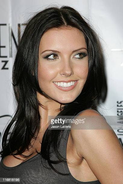 Personality Audrina Patridge attends the Kenneth Cole Awareness Fund Event at the Beverly Center on April 3, 2008 in Los Angeles, California.