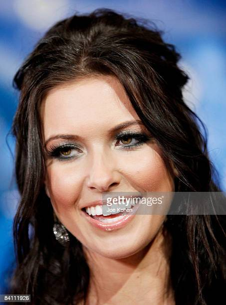 Personality Audrina Patridge attends the season 4 finale of The Hills at Tavern on the Green on December 22 2008 in New York City