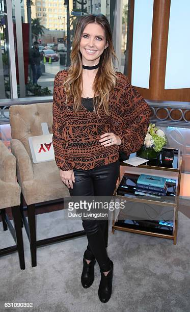 TV personality Audrina Patridge visits Hollywood Today Live at W Hollywood on January 6 2017 in Hollywood California