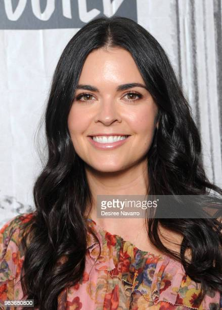 TV personality/ author Katie Lee visits Build Brunch to discuss 'Beach Bites' at Build Studio on June 25 2018 in New York City