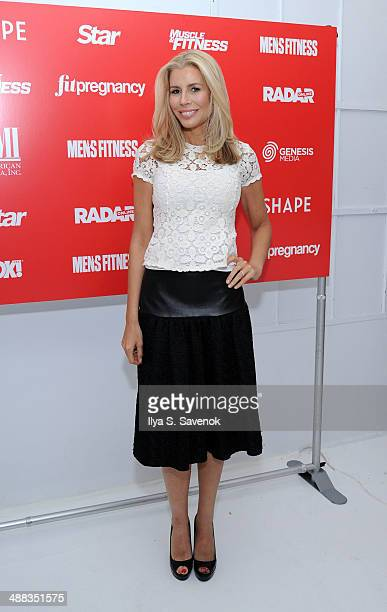 TV personality Aviva Drescher attends American Media And Genesis Media Present Cinco de Mayo Party on May 5 2014 in New York City