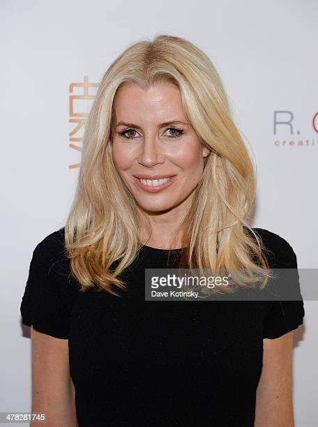 TV personality Aviva Drescher attends attends the 'The Real Housewives Of New York City' season six premiere party at Tokya on March 12 2014 in New...