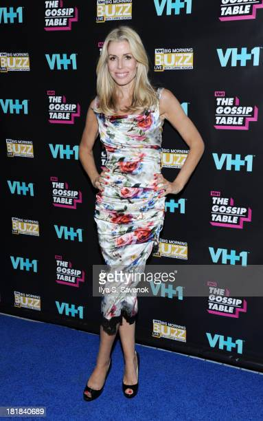 TV personality Aviva Drescher attends the Big Morning Buzz Live And The Gossip Table Premiere on September 25 2013 in New York City