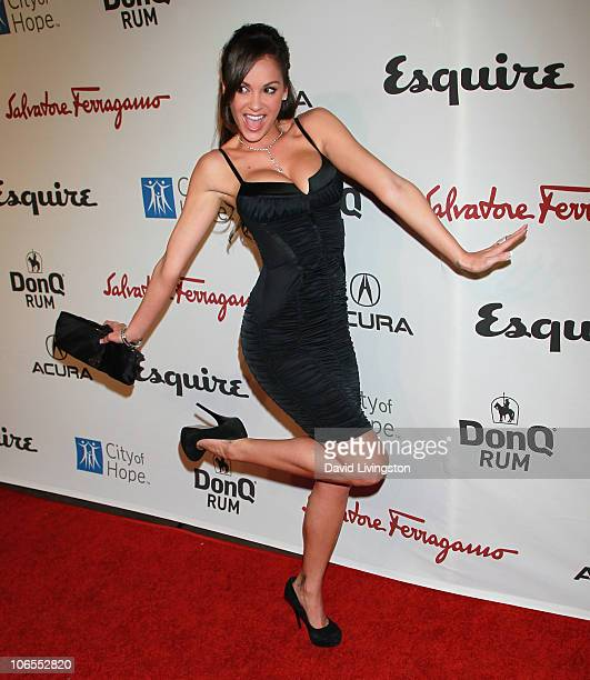TV personality Bambi Lashell attends Esquire House LA's Songs Of Hope VI at Esquire House LA on November 4 2010 in Los Angeles California