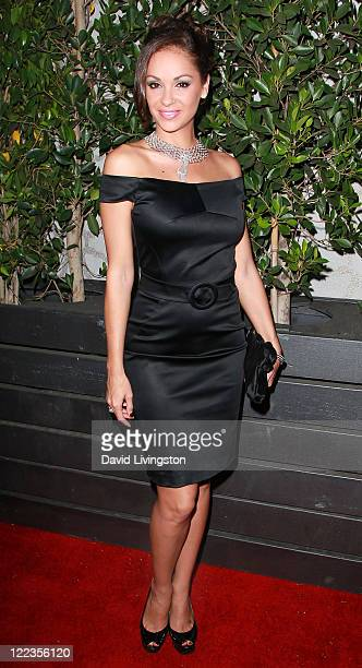 TV personality Bambi Lashell attends the 1st Annual Diamonds Not Fur Gala to benefit SPCALA at Voyeur on August 27 2011 in West Hollywood California