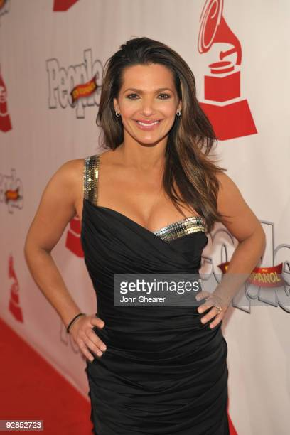 Personality Barbara Bermudo arrives at the 10th Annual Latin GRAMMY Awards after party held at the Mandalay Bay Convention Center on November 5, 2009...