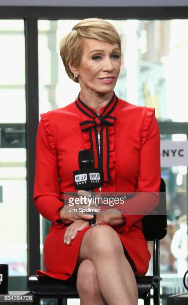 TV personality Barbara Corcoran attends the Build series to Discuss Shark Tank at Build Studio on February 8 2017 in New York City