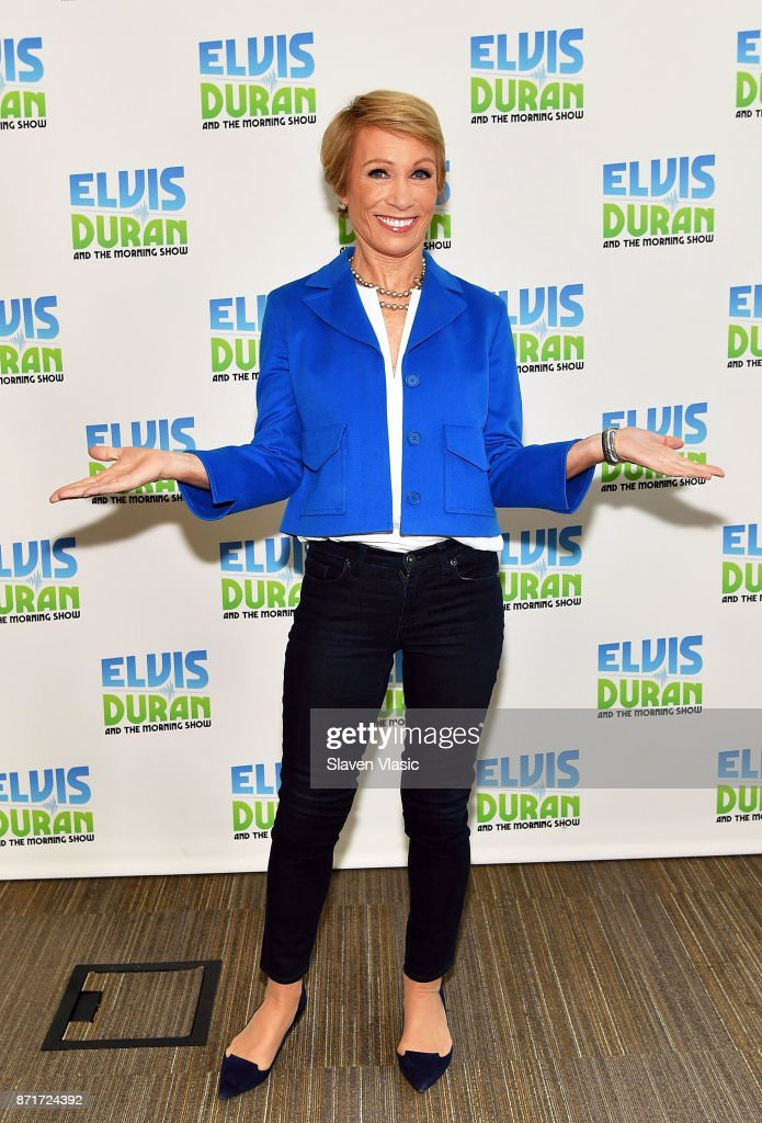 "Barbara Corcoran Visits ""The Elvis Duran Z100 Morning Show"""