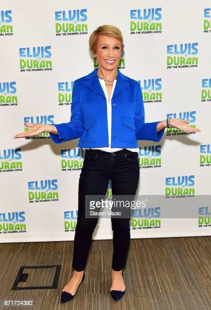 TV personality Barbara Corcoran visits The Elvis Duran Z100 Morning Show at Z100 Studio on November 8 2017 in New York City