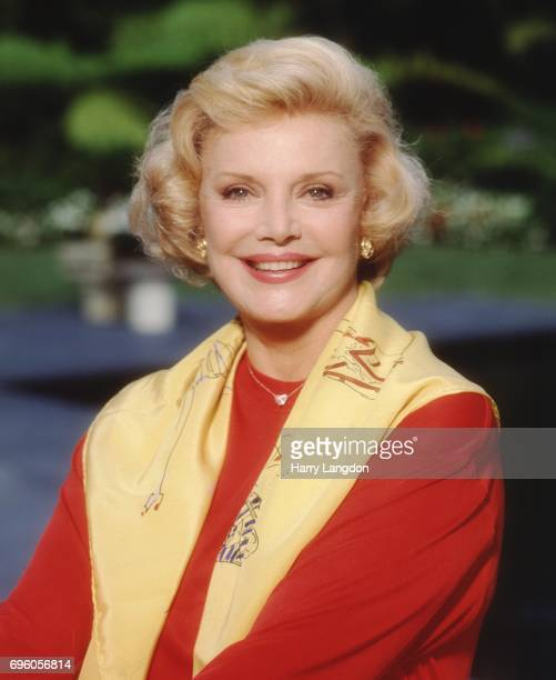 Personality Barbara Sinatra poses for a portrait in 1990 in Los Angeles California