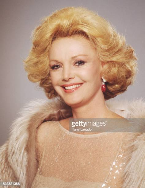 Personality Barbara Sinatra poses for a portrait in 19986 in Los Angeles, California.