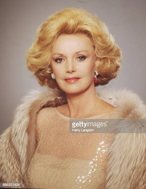 Personality Barbara Sinatra poses for a portrait in 19986 in Los Angeles California