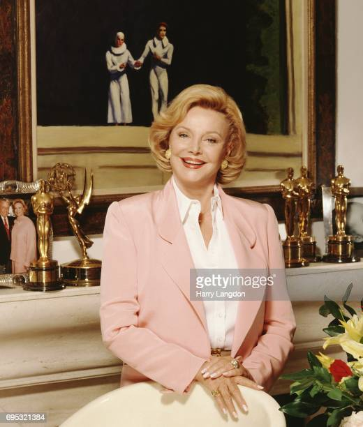Personality Barbara Sinatra poses for a portrait in 19989 in Los Angeles, California.