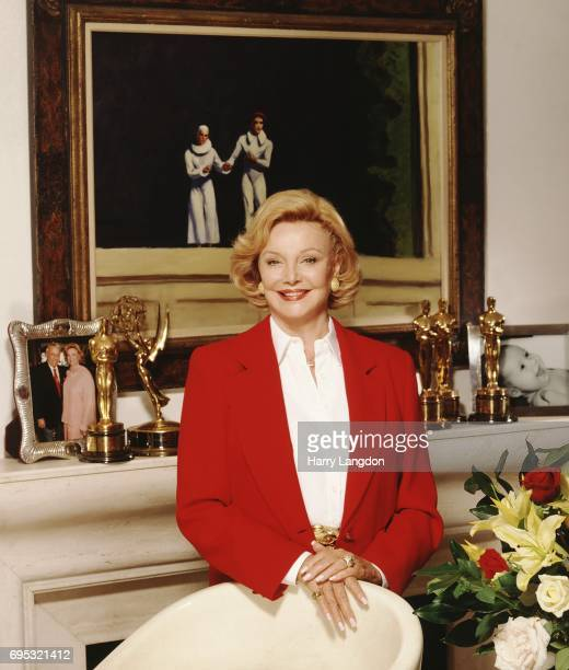 Personality Barbara Sinatra poses for a portrait in 19989 in Los Angeles California