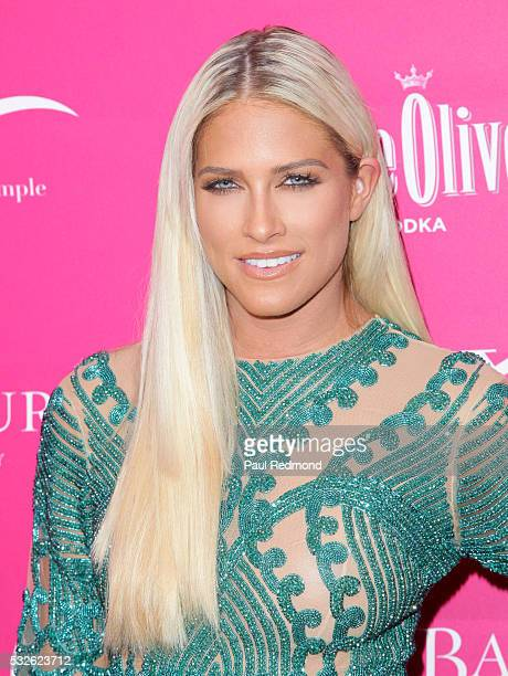 TV personality Barbie Blank arriving at OK Magazine's So Sexy LA at SkyBar at the Mondrian Los Angeles on May 18 2016 in West Hollywood California