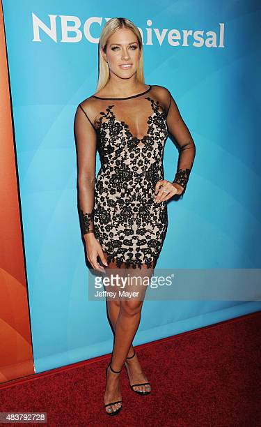 TV personality Barbie Blank attends the NBCUniversal press tour 2015 at the Beverly Hilton Hotel on August 12 2015 in Beverly Hills California