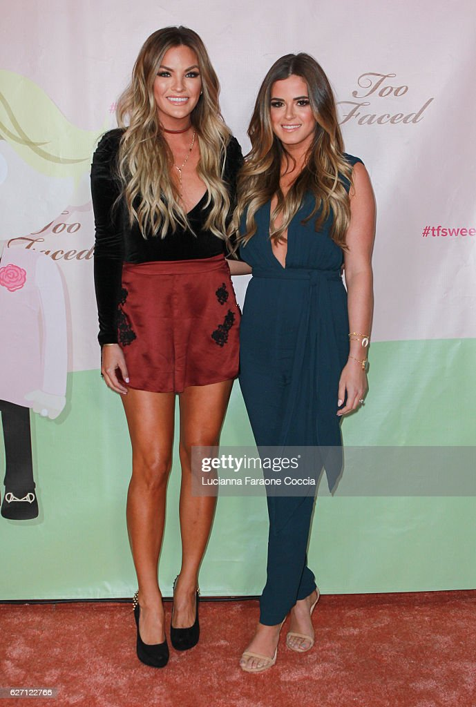 Too Faced Cosmetics Celebrate Launch Of Their Sweet Peach Collection For Spring 2017 : News Photo