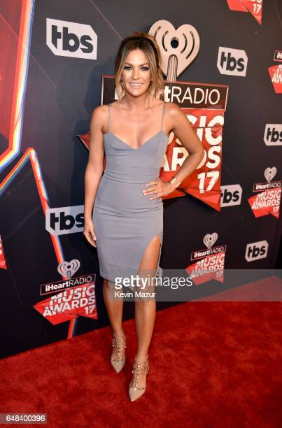 TV personality Becca Tilley attends the 2017 iHeartRadio Music Awards which broadcast live on Turner's TBS TNT and truTV at The Forum on March 5 2017...