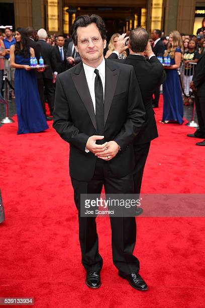 TV personality Ben Mankiewicz attends the 44th AFI Life Achievement Award Gala Tribute honoring John Williams in partnership with FIJI Water at Dolby...