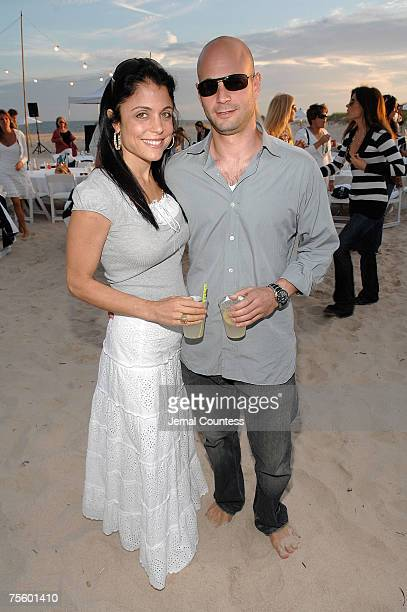 Personality Bethany Frankel and Jason Colodne at the Hamptons and Gotham Magazines Annual Clam Bake at Dune Beach in Southampton Long Island on July...