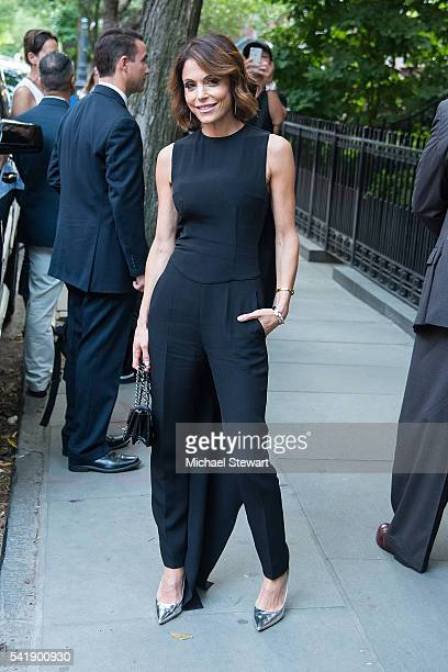 TV personality Bethenny Frankel attends a Hillary Victory Fund fundraiser at the residence of Harvey Weinstein on June 20 2016 in New York City