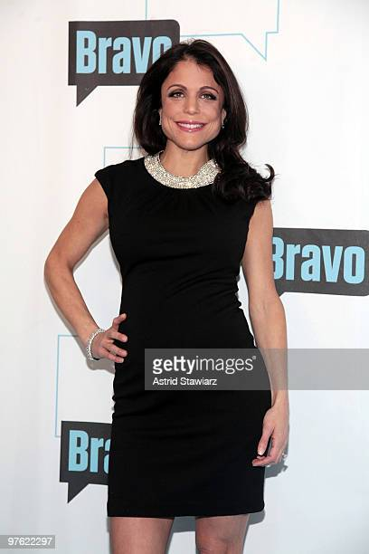 Personality Bethenny Frankel attends Bravo's 2010 Upfront Party at Skylight Studio on March 10 2010 in New York City