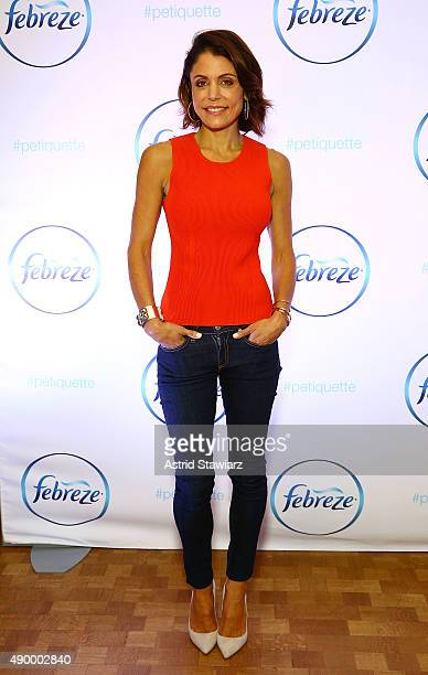 TV personality Bethenny Frankel attends Febreze School Of #Petiquette Opening at Liberty Hall at Ace Hotel on September 25 2015 in New York City