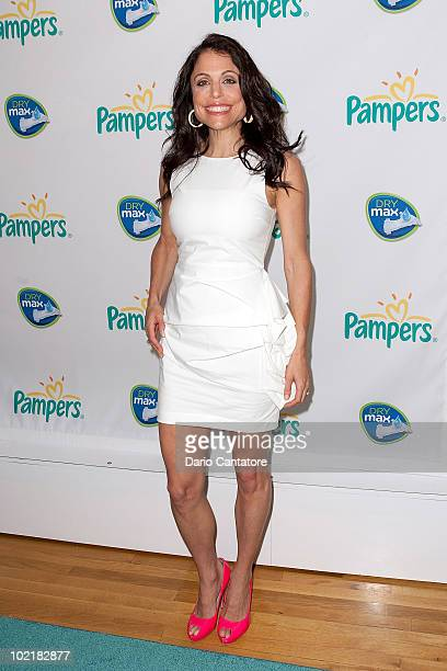 TV personality Bethenny Frankel attends Pampers' Daddy Play Date Fathers Day celebration at the Metropolitan Pavilion on June 17 2010 in New York City