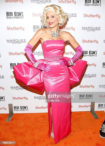 Personality Bethenny Frankel attends Shutterfly Presents Heidi Klum's 14th Annual Halloween Party sponsored by SVEDKA Vodka and smartwater at Marquee...