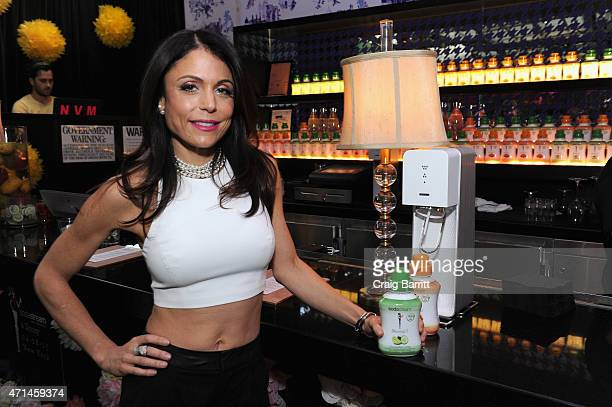 TV personality Bethenny Frankel attends SodaStream/Skinnygirl 'Have A Drink With Us' on April 28 2015 in New York City