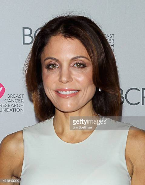 TV personality Bethenny Frankel attends the 2015 BCRF Awards Gala at The Waldorf=Astoria on October 29 2015 in New York City