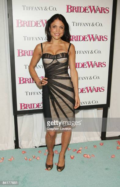 Personality Bethenny Frankel attends the Bride Wars Premiere at AMC Loews Lincoln Square on January 5 2009 in New York City