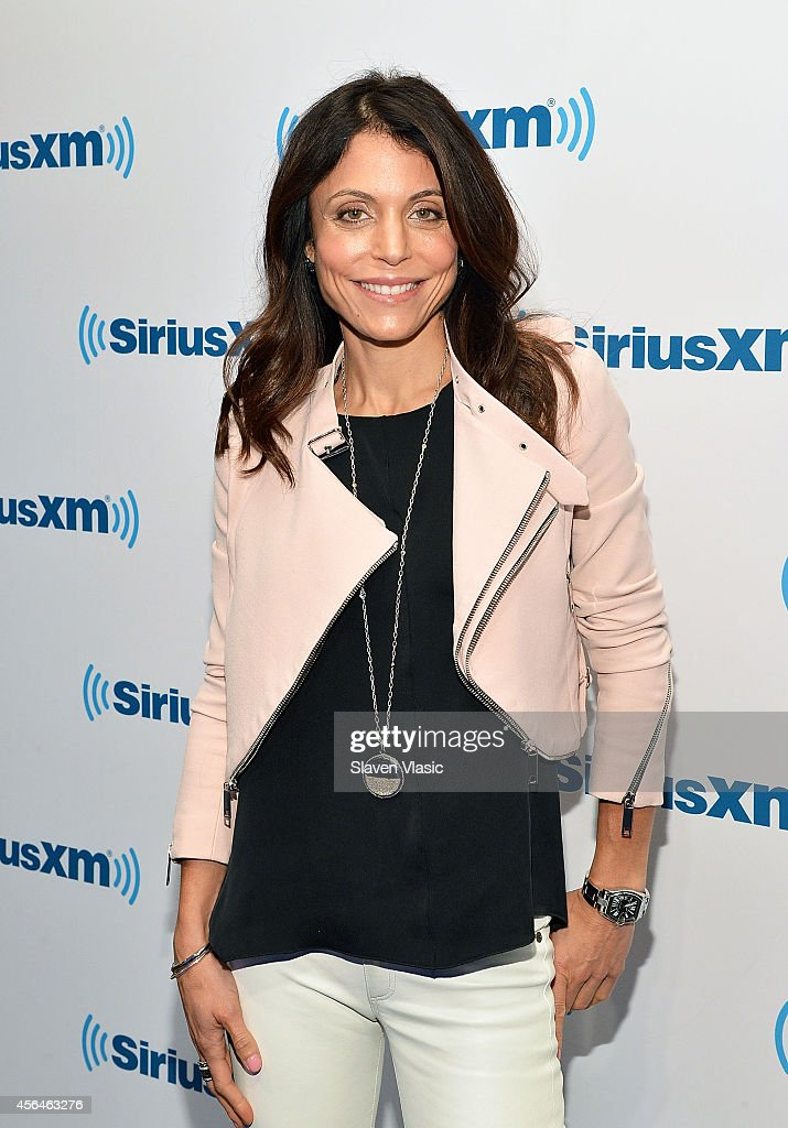 TV personality Bethenny Frankel visits SiriusXM Studios on October 1, 2014 in New York City.