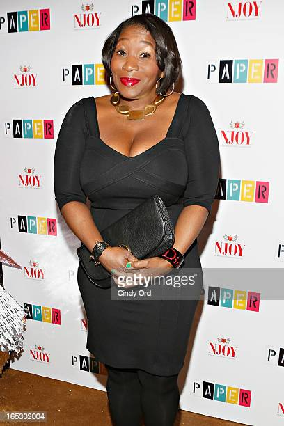 TV personality Bevy Smith attends Paper Magazine's 16th Annual Beautiful People Party at Top of The Standard Hotel on April 2 2013 in New York City