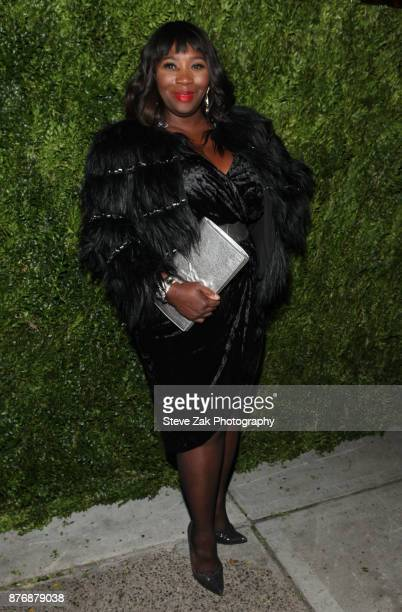 TV personality Bevy Smith attends the 2017 Saks Fifth Avenue Disney 'Once Upon a Holiday' Windows Unveiling at Saks Fifth Avenue on November 20 2017...