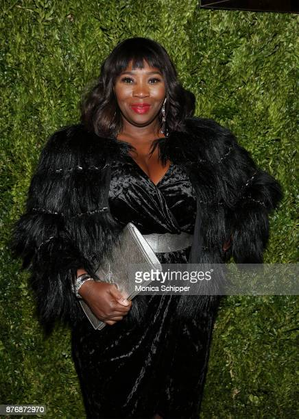 TV personality Bevy Smith attends the 2017 Saks Fifth Avenue Holiday Window Unveiling And Light Show at Saks Fifth Avenue on November 20 2017 in New...