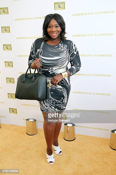 TV personality Bevy Smith attends the American Express celebration of The Gold Card at Milk Studios on June 11 2015 in New York City