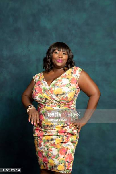 TV personality Bevy Smith is photographed for Essencecom on July 4 2019 at 2019 Essence Festival in New Orleans Louisiana
