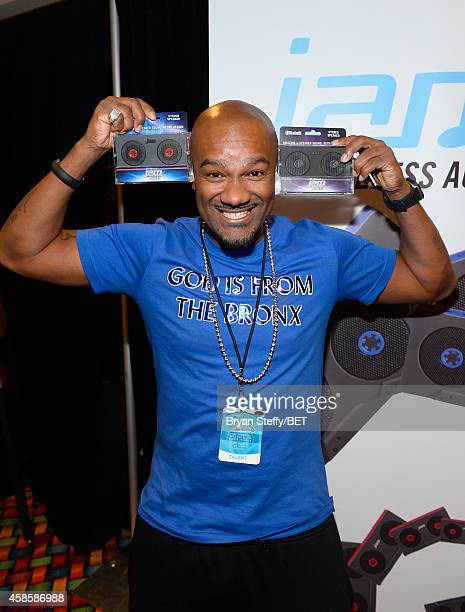 TV personality Big Tigger attends day 2 of the 2014 Soul Train Music Awards Gifting Suite at the Orleans Arena on November 7 2014 in Las Vegas Nevada