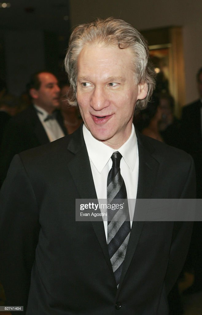 TV personality Bill Maher attends the White House Correspondents' Dinner at the Washington Hilton Hotel on April 30, 2005 in Washington DC.