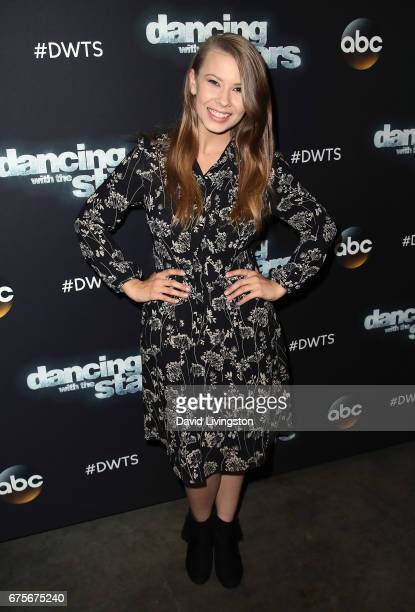 TV personality Bindi Irwin attends 'Dancing with the Stars' Season 24 at CBS Televison City on May 1 2017 in Los Angeles California