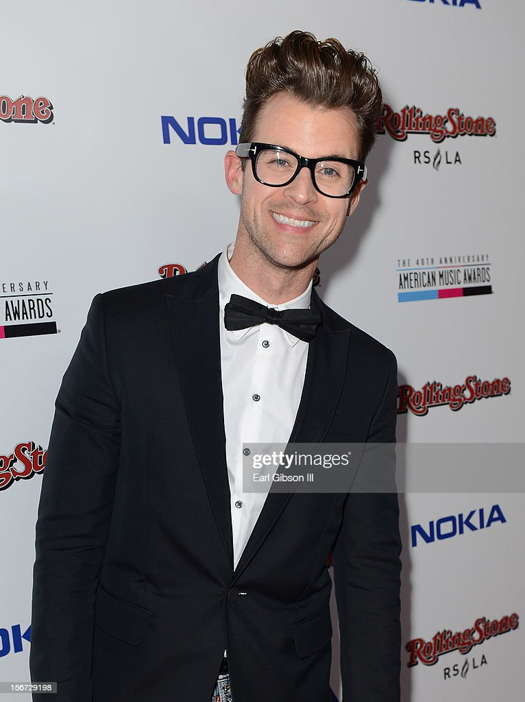 TV personality Brad Goreski arrives at Rolling Stone Magazine Official 2012 American Music Awards VIP After Party presented by Nokia and Rdio at Rolling Stone Restaurant And Lounge on November 18, 2012 in Los Angeles, California.