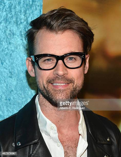 TV personality Brad Goreski arrives to the premiere of HBO's Looking at Paramount Theater on the Paramount Studios lot on January 15 2014 in...