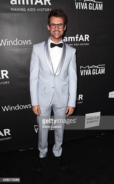 TV personality Brad Goreski attends amfAR LA Inspiration Gala honoring Tom Ford at Milk Studios on October 29 2014 in Hollywood California