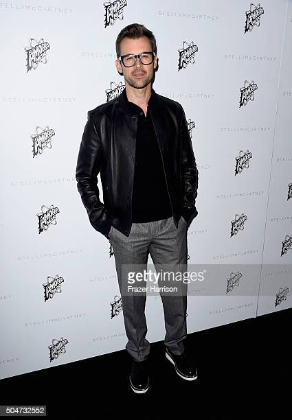 TV personality Brad Goreski attends Stella McCartney Autumn 2016 Presentation at Amoeba Music on January 12 2016 in Los Angeles California