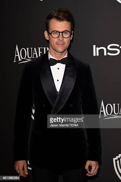 TV personality Brad Goreski attends the 2015 InStyle And Warner Bros 72nd Annual Golden Globe Awards PostParty at The Beverly Hilton Hotel on January...