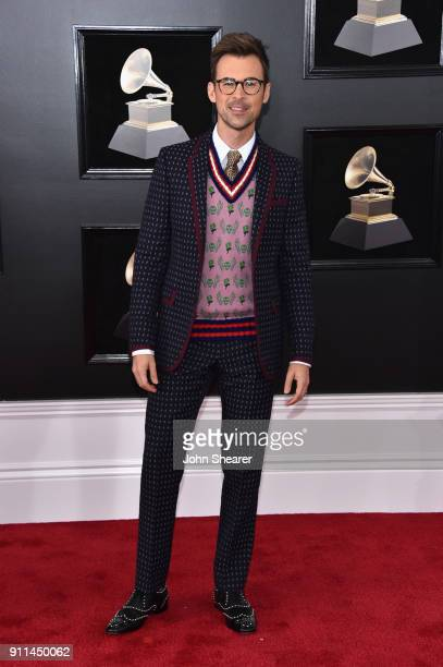 TV personality Brad Goreski attends the 60th Annual GRAMMY Awards at Madison Square Garden on January 28 2018 in New York City