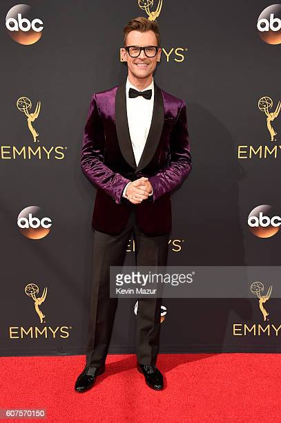 TV personality Brad Goreski attends the 68th Annual Primetime Emmy Awards at Microsoft Theater on September 18 2016 in Los Angeles California